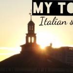 My top 5 Italian sunsets