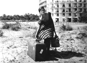 THE GIRL WITH A SUITCASE, (aka LA RAGAZZA CON LA VALIGIA), Claudia Cardinale, 1960