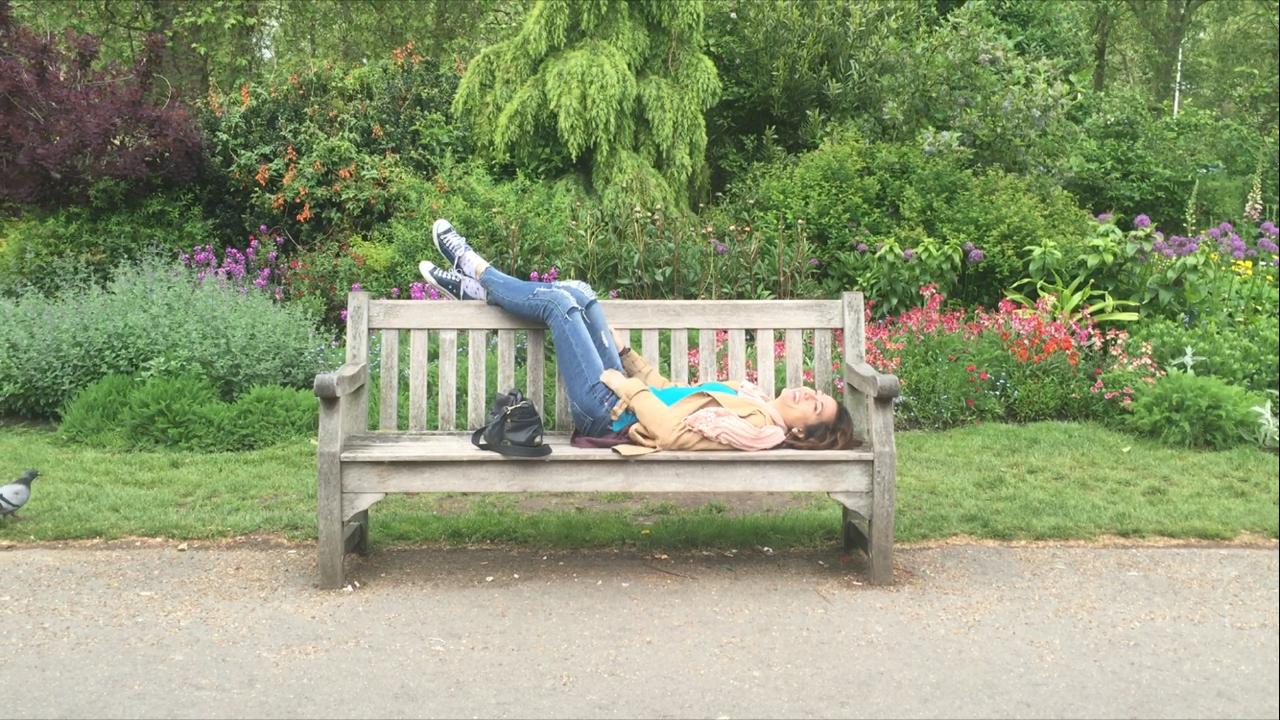 io e le mie solite pennichelle sulle panchine (St. James Park)