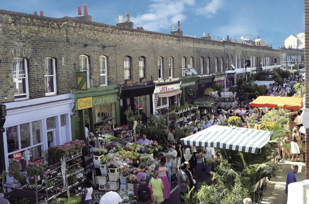 olumbia flower market london