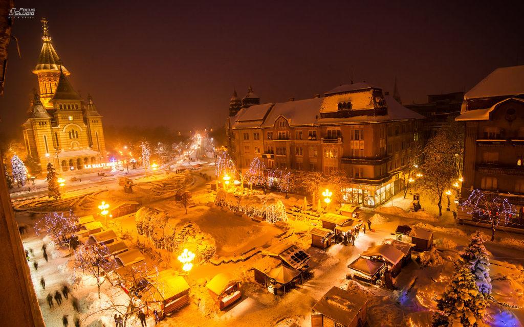 mercatino di natale Timisoara -
