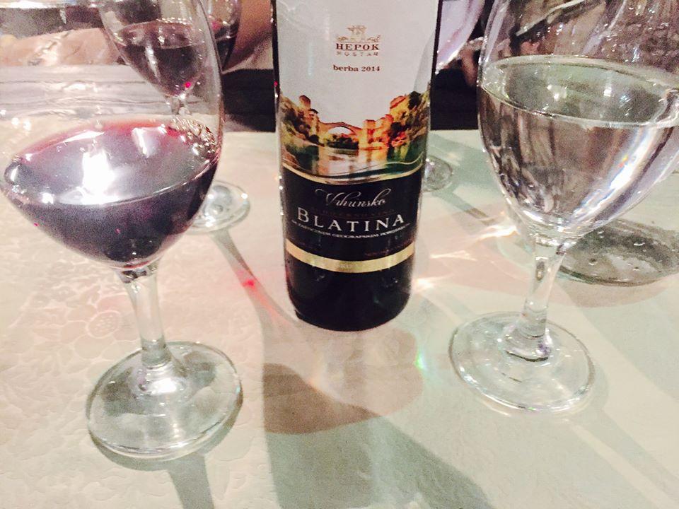 blatina vino serbo