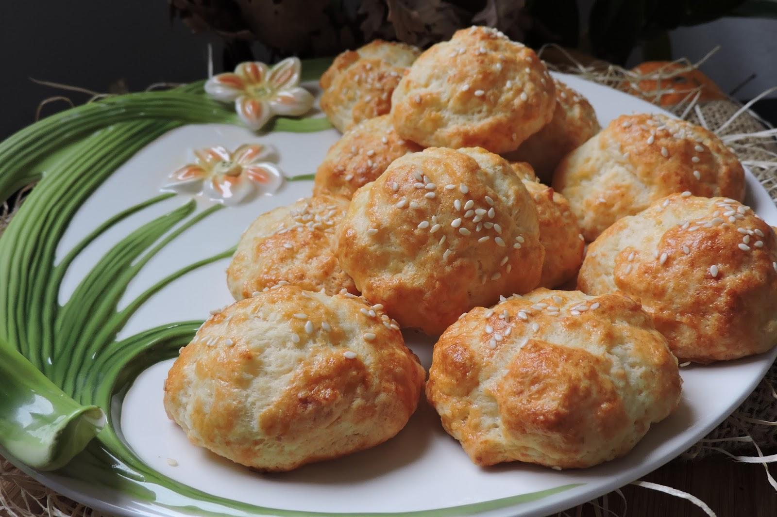 biscotti salati con burro e formaggio bulgari