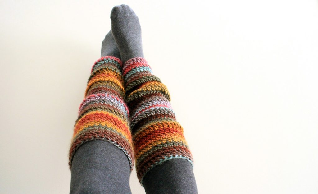 leg warmers to be warm in winter trips