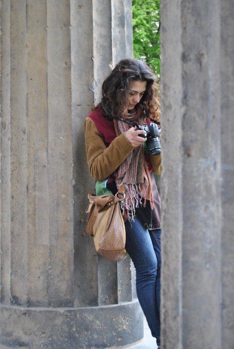 macchina fotografica in viaggio
