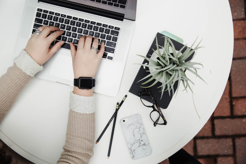 work blog computer