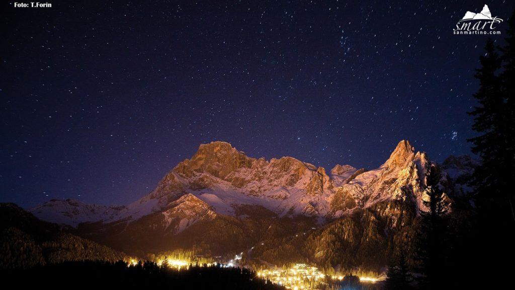 Scende-la-notte - Pale di San Martino