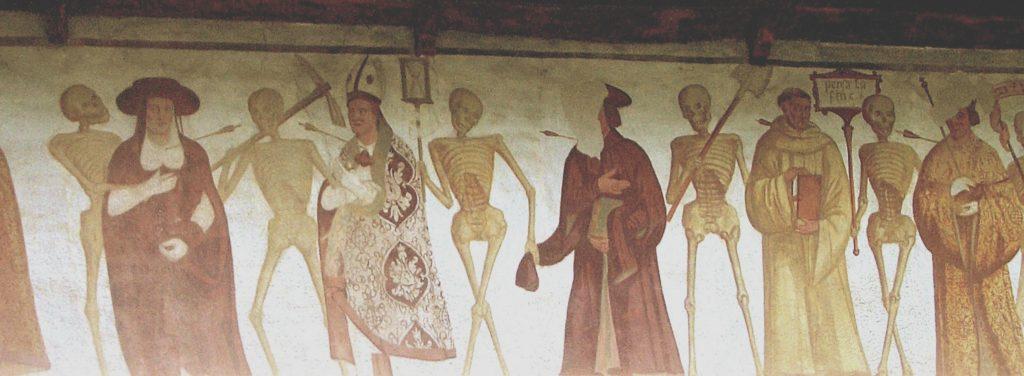 Dettaglio de La danza macabra, Pinzolo