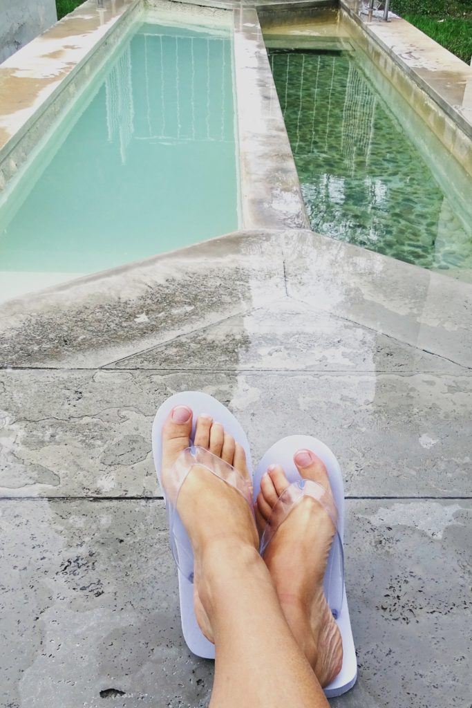 Vasche passaggio freddo caldo terme di cetriolo