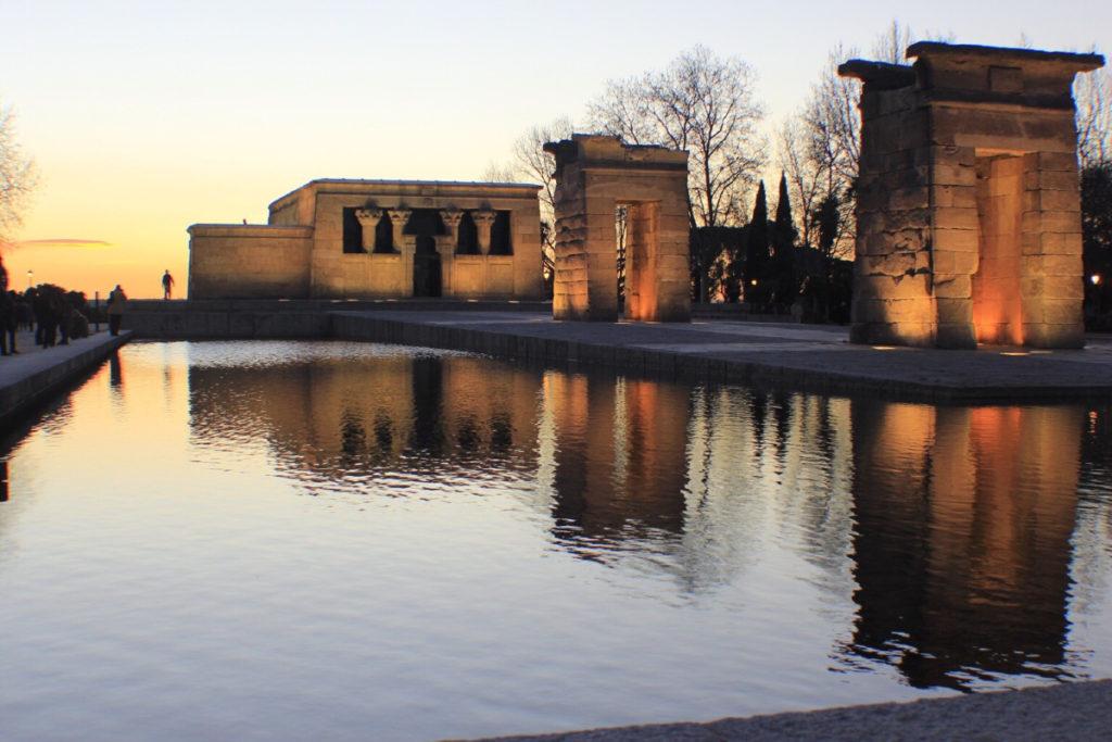 Il Templo di Debod - cose da vedere a Madrid in due giorni