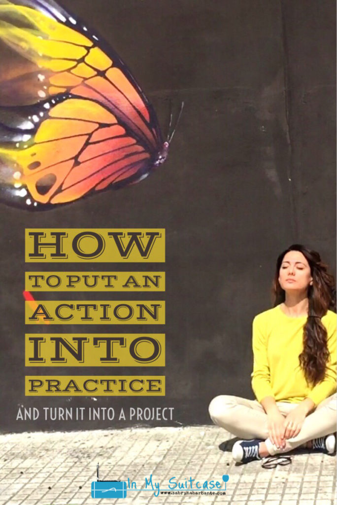 pinterest - how to put an action into practice