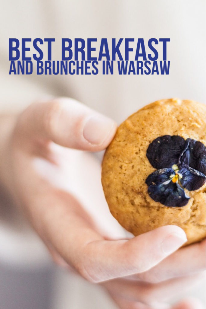 best breakfast and brunches in Warsaw - pinterest